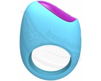 Fotka 1 - Vibrační erekční kroužek Lifeguard Ring Vibe ovládaný mobilem