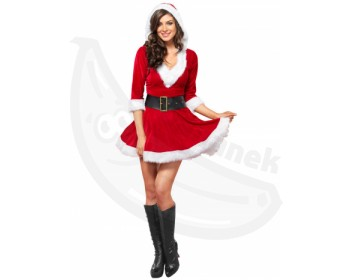Fotka 1 - Vánoční sexy kostým paní Clausové