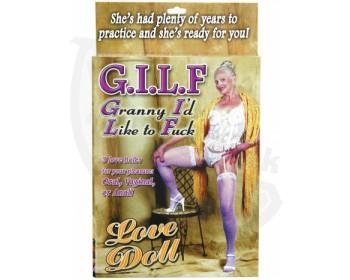 Fotka 1 - Nafukovací panna GILF granny
