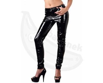 Fotka 1 - Dámské černé lakované kalhoty Black Level