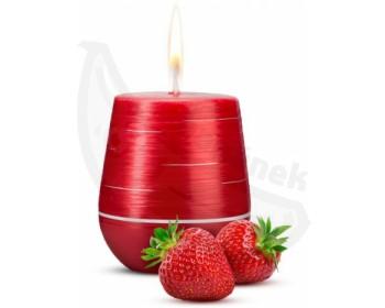 Fotka 1 - Afrodiziakální vonná svíčka Sweet Strawberries s vůní jahod