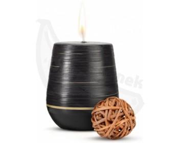 Fotka 1 - Afrodiziakální vonná svíčka Tantra Magi s dřevitou vůní