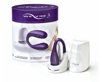 Fotka 1 - We-Vibe III vibrátor na bod G a klitoris fialkový