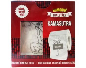 Fotka 1 - Erotický toaletní papír KAMASUTRA