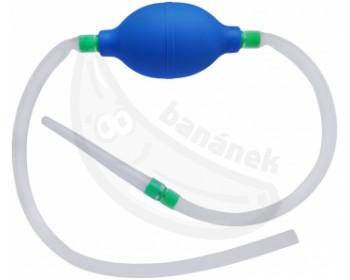 Fotka 1 - Silikonový průtokový klystýr s balónkem