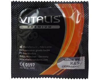 Fotka 1 - Pomerančový kondom Vitalis Orange 1 ks