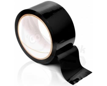 Fotka 1 - Univerzální černá páska na bondage Pleasure Tape