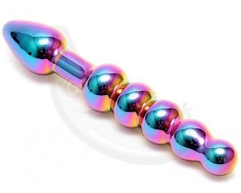 Fotka 1 - Skleněné dildo/anální kuličky Laila