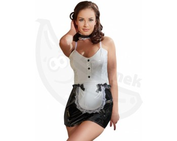 Fotka 1 - Lakovaný erotický kostým servírka