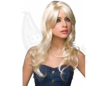 Fotka 1 - Dlouhá blond paruka Jessie
