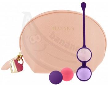 Fotka 1 - Vaginální činka s vyměnitelnými kuličkami Pussy Playballs