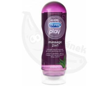 Fotka 1 - Masážní a lubrikační gel Durex Play Aloe Vera